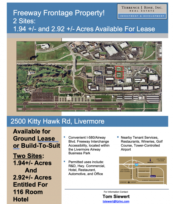 Freeway Frontage property flyer