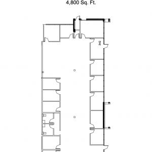 Floorplan for suite 342